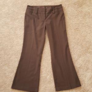 Maurices Brown dress pants 7/8